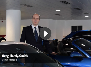 Video: Welcome to Porsche Centre Mayfair from our Centre Principal, Greg Hardy-Smith