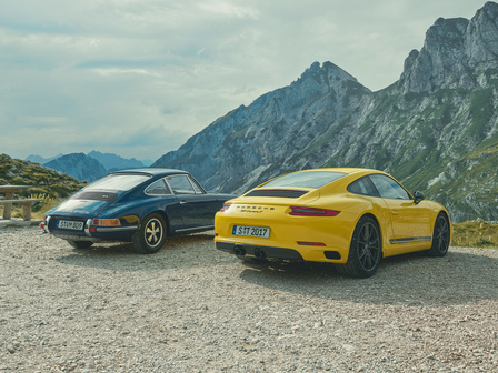 The new 911 Carrera T.